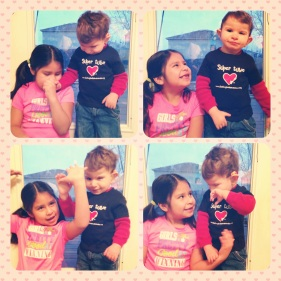 Aileen loves her brother without limits. I love the way she loves him.